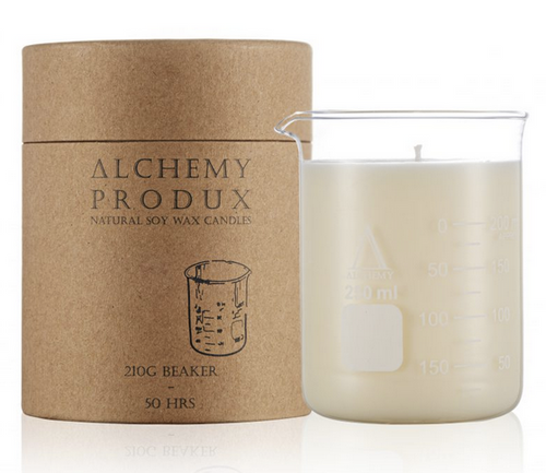 Alchemy 210g Beaker Candle in Lychee and Black Tea