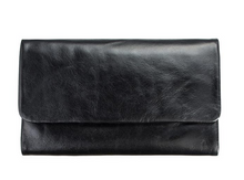 Audrey Genuine Leather wallet in Black by Status anxiety