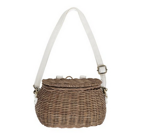 Minichari Bag in Natural by Olliella was $54.95 now $41.25