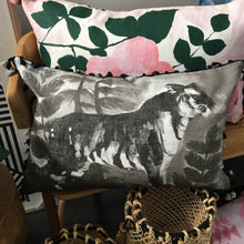 Tiger Cushion in Black by Bonnie and Neil was $149 now $111.75