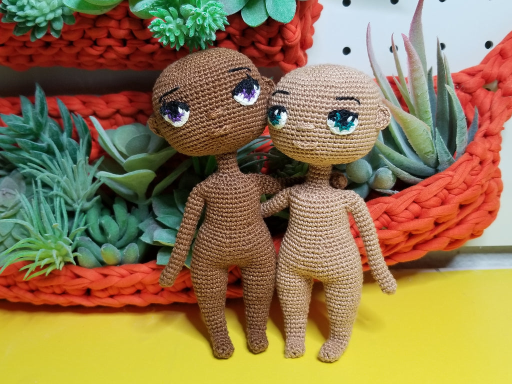 Mini Crochet Doll Base - Pattern Release!