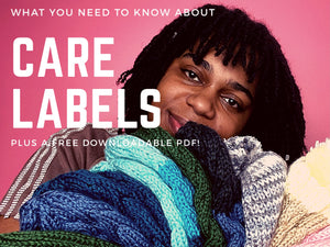 What you Need to Know About Care Labels!