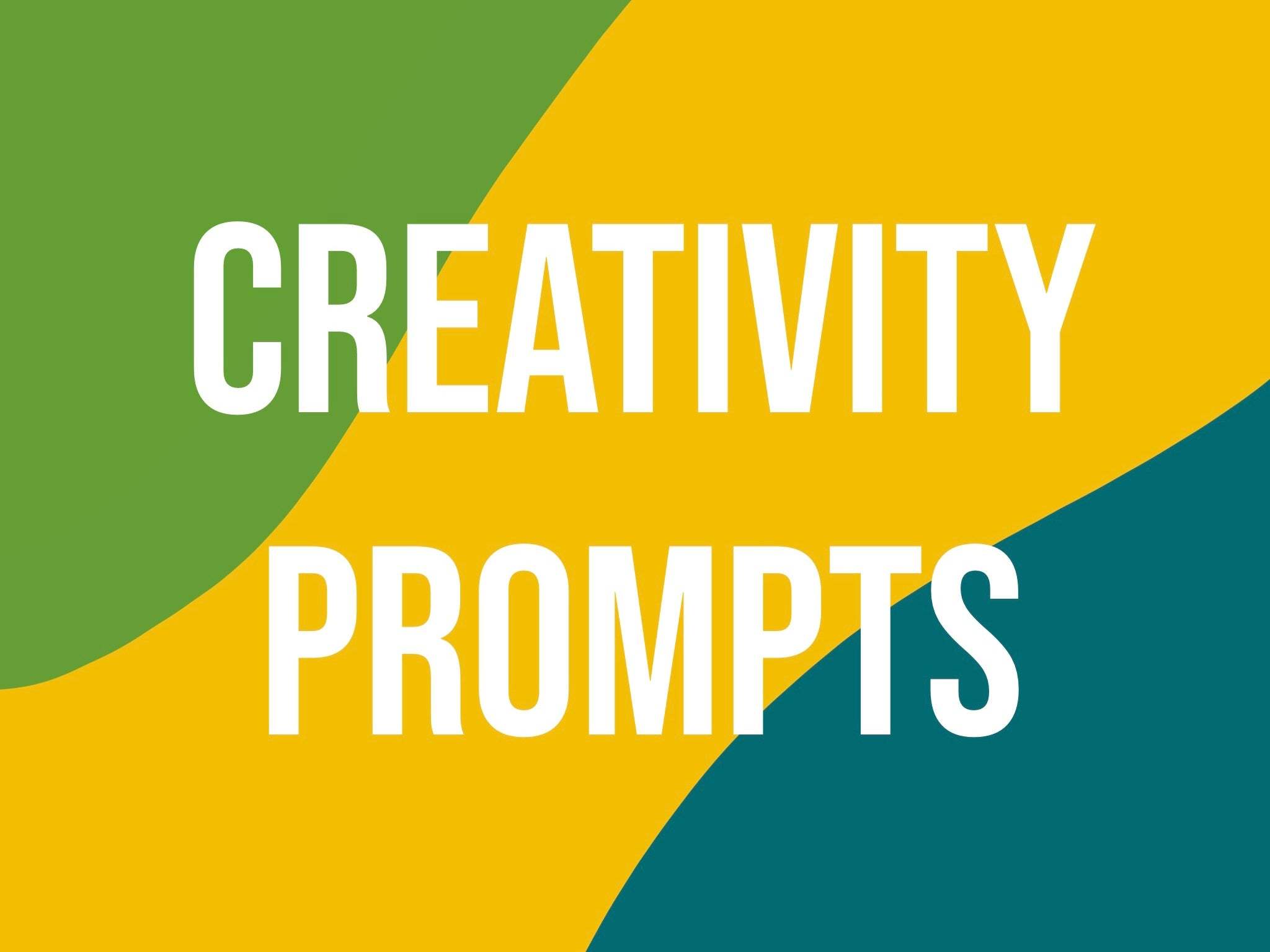 March Creativity Prompts