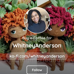 Picture of Whitney's ko-fi account.
