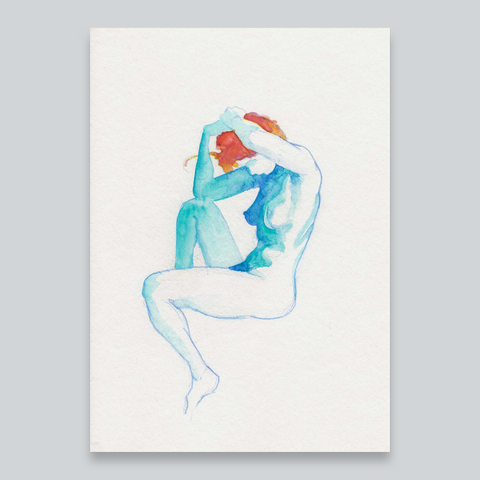 This is A. – Nude Watercolour