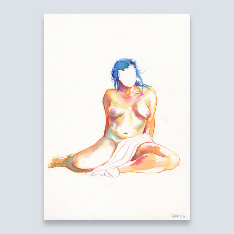 Nude Art Painting