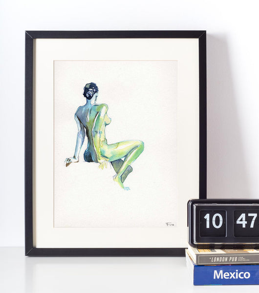 This is J. – Nude Watercolour