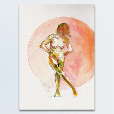 This is R. – Nude Watercolour