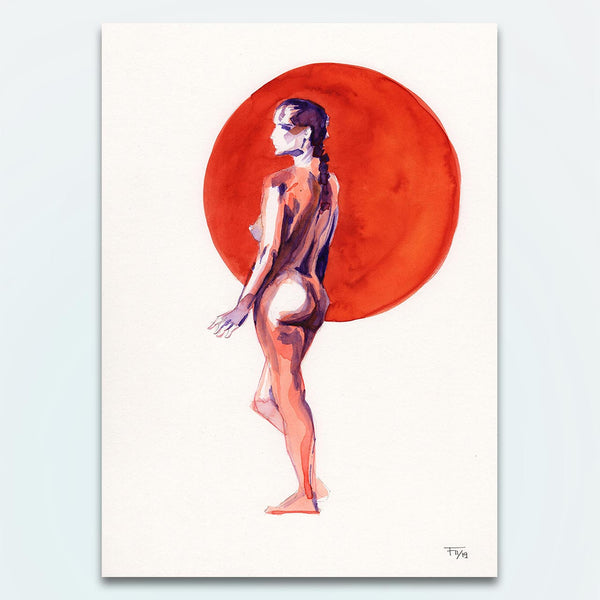 This is K. – Nude Watercolour