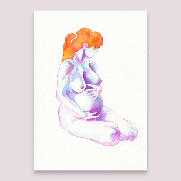 This is P. – Nude Watercolour
