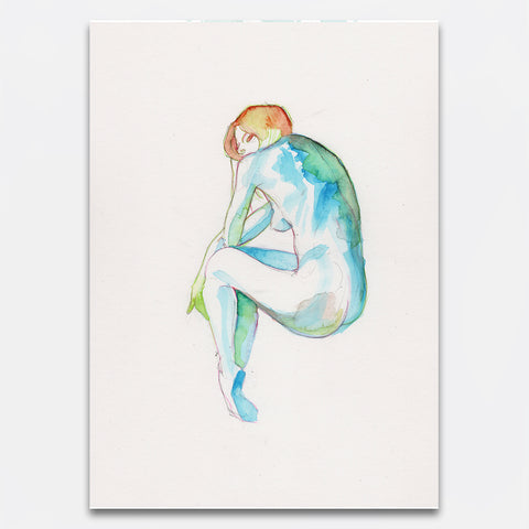 This is S. – Nude Watercolour