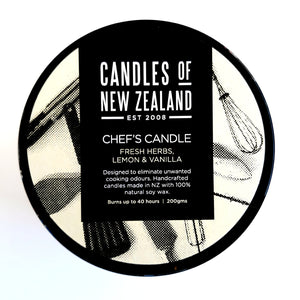 Chef's Candle of New Zealand