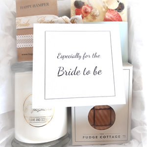 Bride to be - silver ribbon