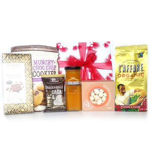 Gift Basket Hamper Box Coffee - Happy Hamper New Zealand