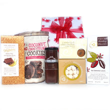 Gift Basket Hamper Box Hot Chocolate - Happy Hamper New Zealand