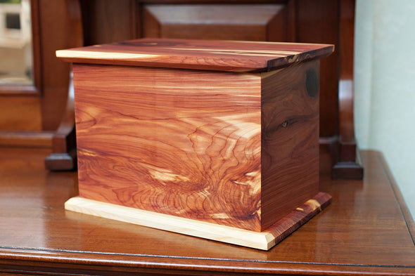 Candor in Aromatic Cedar Urn