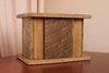 Reclaimed Barn Wood Oak Urn