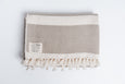Cambodia Striped Diamond Throw, Dune
