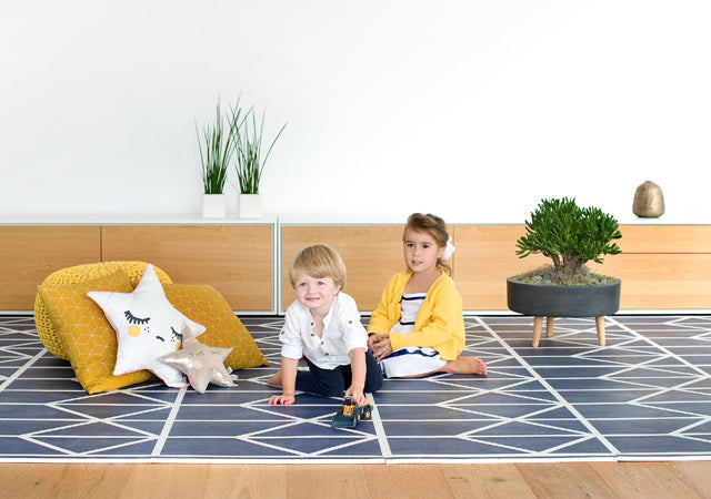 Petroleum Baby Playmat in soft, toxic free foam