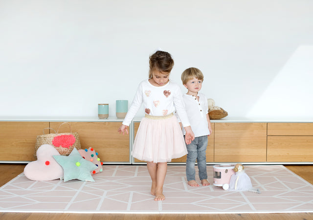 Toddlekind Foam Puzzlemat in Vintage Nude from the Nordic Collection
