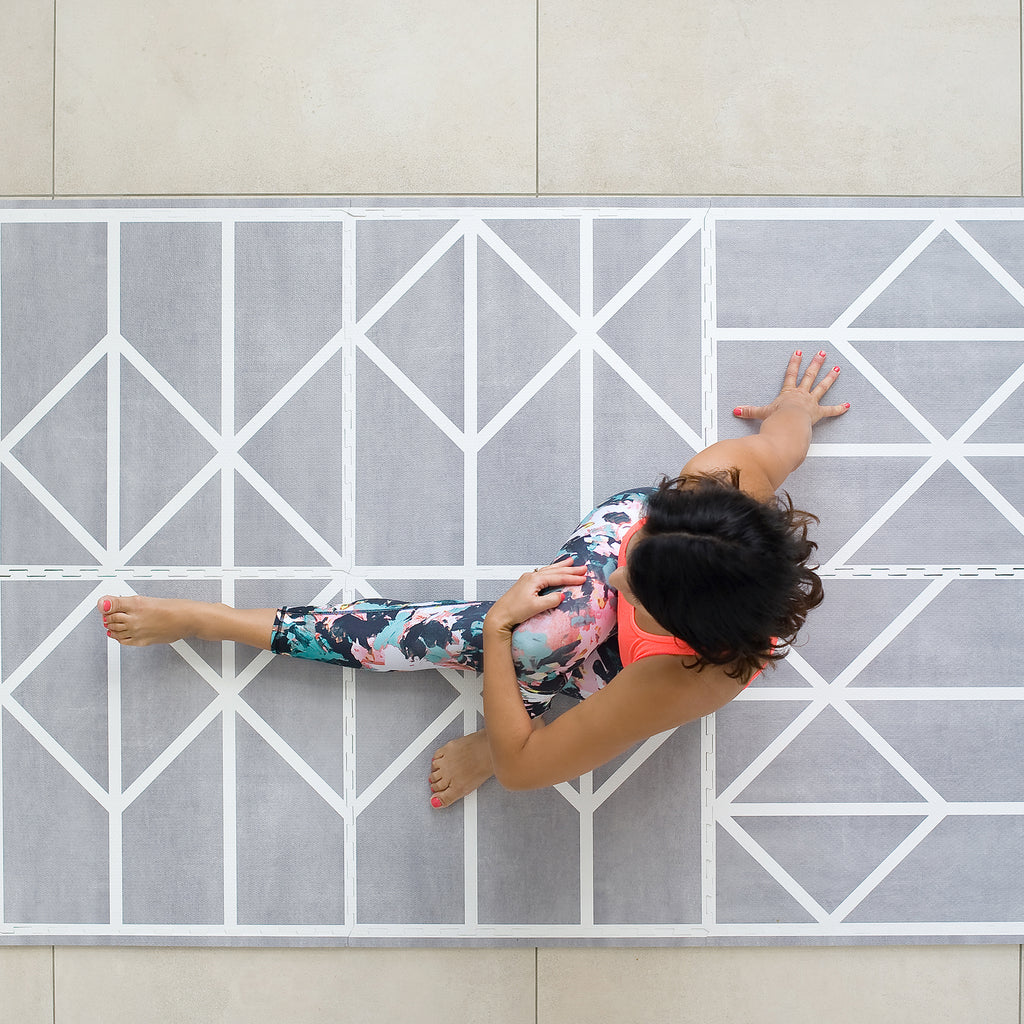 Toddlekind Playmat for yoga as well as your baby