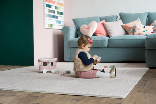 Lovely baby playmats from Toddlekind in our Persian Blossom