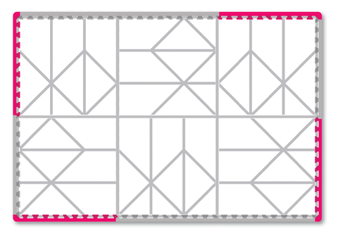 Nordic Baby Playmat assembly guide