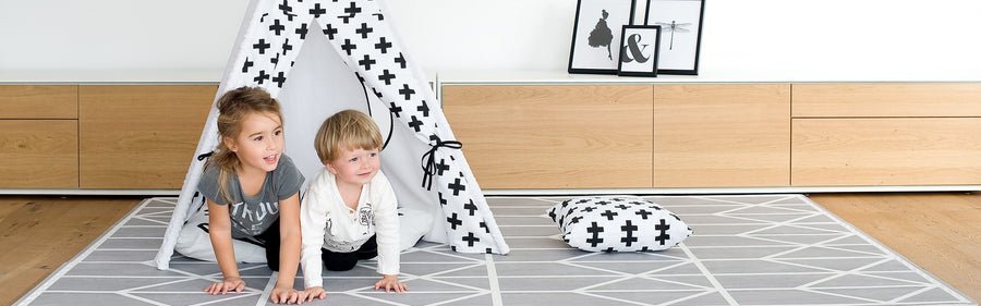 Toddler foam playmat from Toddlekind the Nordic Pebble foam puzzlemat