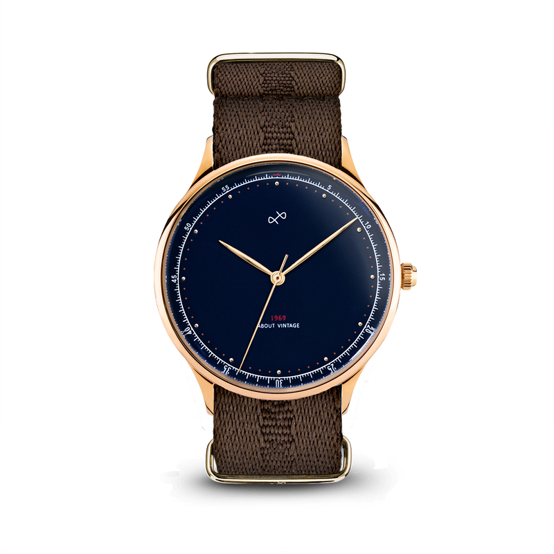 1969 Vintage, Gold / Midnight Blue - Special Edition