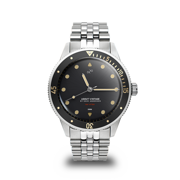 1926 At'sea, Steel / Black Vintage