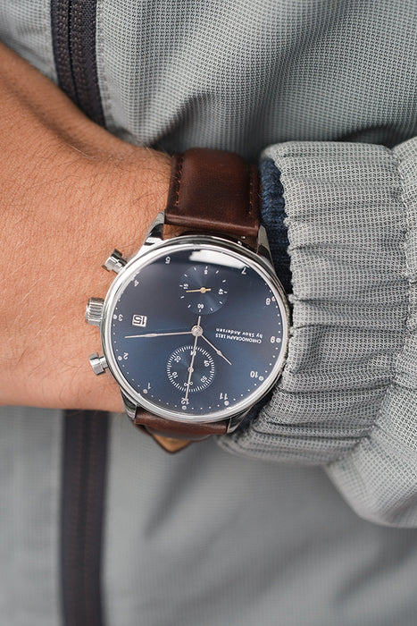 1815 Chronograph, Steel / Blue Sunray - Special Edition