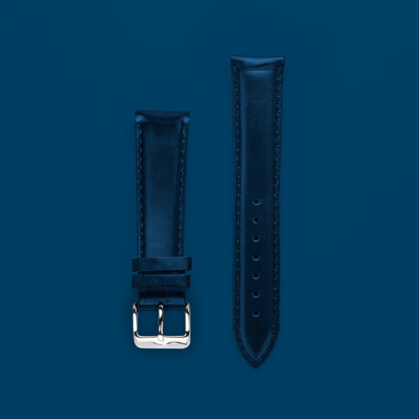Pin Buckle -  Dark Blue