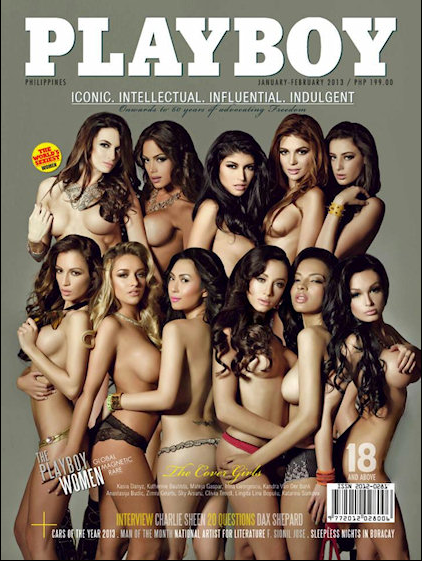 No.49 The Playboy Women (January/February 2013)