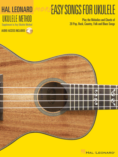 More Easy Songs for Ukulele book
