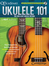 Ukulele 101 The Fun & Easy Ukulele Method Book w/CD