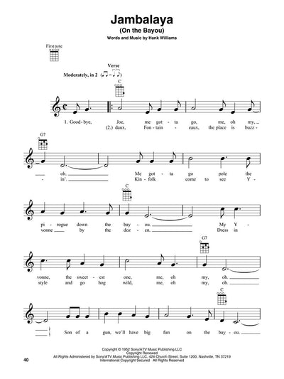 Two-Chord Songs for Ukulele songbook