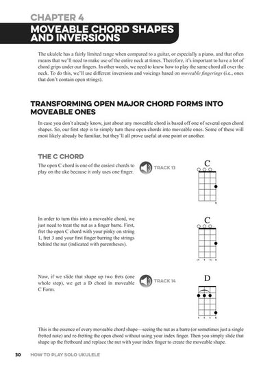 How To Play Solo Ukulele Book