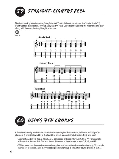 101 Ukulele Tips book