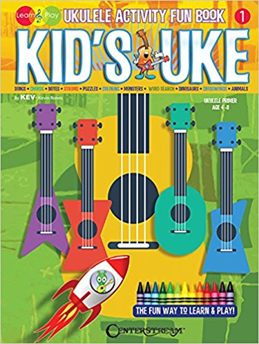 Kid's Uke Activity Fun Book