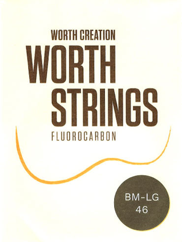 WORTH Strings Brown Fluorocarbon