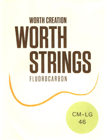 WORTH Strings Clear Fluorocarbon