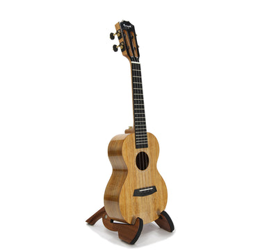Enya All-Solid Hawaiian Koa Concert Ukulele A1