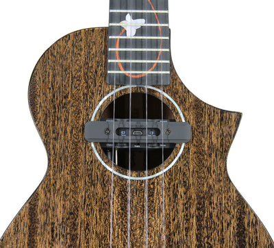 Enya M6 all-solid Mahogany Concert with Double G0