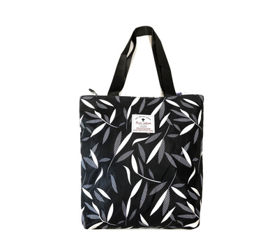 Hawaiian Tote Bag - Monochrome 03