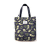 Hawaiian Tote Bag - Green leaves 06
