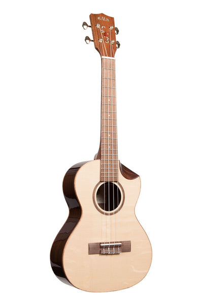 Kala All Solid Spruce Scallop Tenor Ukulele (KA-SPT-SC)
