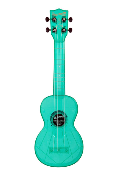 Kala Waterman Soprano Ukulele (Fluorescent Blue Raspberry)