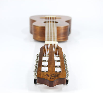 Leho All-Solid Acacia 8-String Tenor Ukulele (ASAK Series)