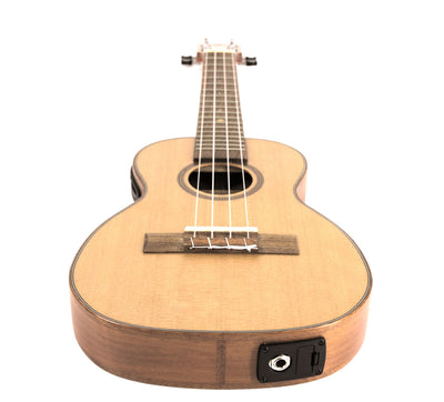Leho All-Solid Cedar Mahogany Thin-Body Concert w/EQ
