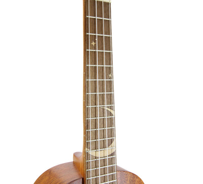 Leho Moon Solid Mahogany Top Tenor Ukulele (LHUT-MOON series)